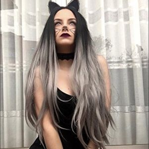 "🔮Moy 27""Grey Middle part Mix Wig *NWT*🔮"